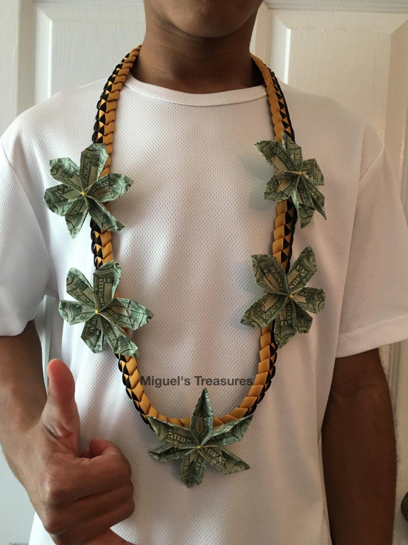 Money Flower leis