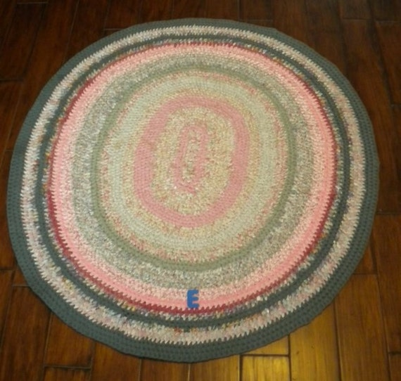 Rag Rug Prices: Hand-made Knotted-style Oval Rug Using Recycled Cotton