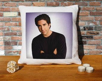 David Schwimmer Cushion Pillow - Pop Art - 100% cotton - 16x16 inches