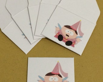 Tiny Tooth Fairy Envelopes ~ Cartman ~ Give a Gift from the Tooth Fairy & Save your Child's baby teeth