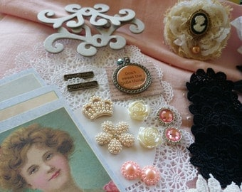 52 piece embellishment kit