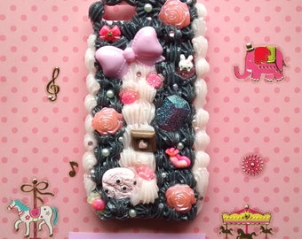 Pastel Goth Sweets iPhone 5/5s Decoden Phone Case