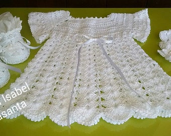 White Angel Dress style Set