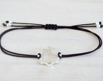 Octagon bracelet | Silver