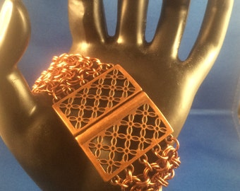 Lattice Chain Maille Bracelet