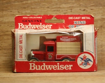 Collectible Anheuser Bush Budweiser Truck in Original Box