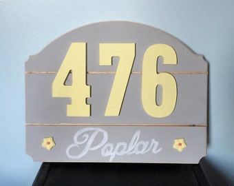 Personalized address sign(custom)