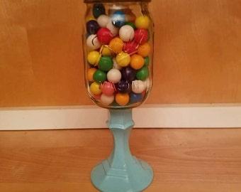 Mason jar candy holders