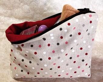 Spotty Makeup Bag!