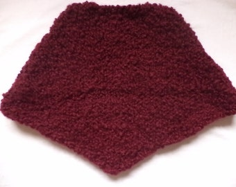 104/110 116/122 wool knitted wool poncho children
