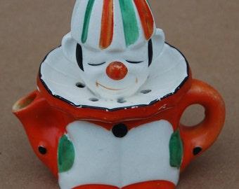 Vintage Clown Reamer - Juicer - Made in Japan