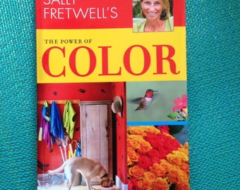 Set of 3 books, The Power of Color, Make the Ordinary, Extraordinary, and Growing green