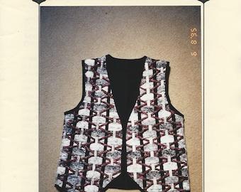 Patches & Pieces - Triple Weave Vest Pattern