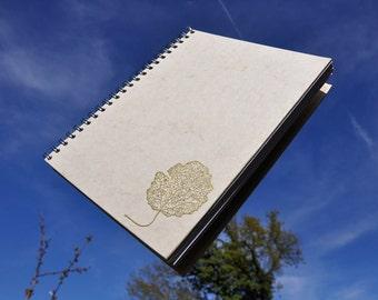 Golden Leaf notebook