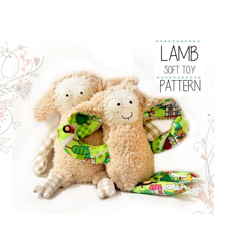 Sheep Sewing Pattern