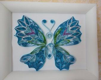 Вlue butterfly