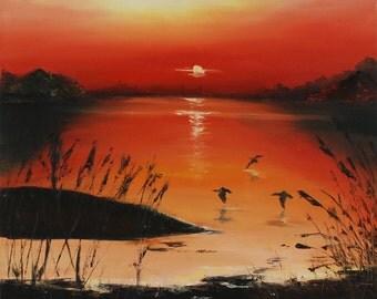 """Original Oil Painting 19,6""""x23,6"""""""