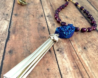 Necklace - Blue Stone