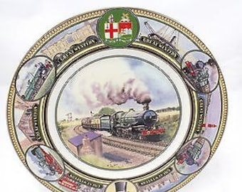 COALPORT Great Western Railway 'KING CLASS' Decorative Collectors Plate