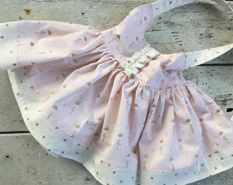 Toddler/Girls bow back top| flamingo top| ruffle front top| girls tunic