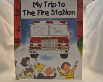 Personalized Children's Book - My Trip to the Firehouse