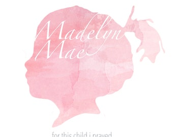 Child Silhouette: I Prayed