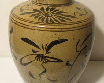 Antique Beautiful Hand Made Wine jar