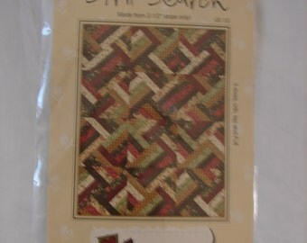 Strip Search Quilt Pattern by G. E. Designs Iceland Makes 3 Sizes