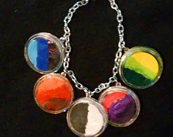 Multi-Pallet Face Paint Bracelet