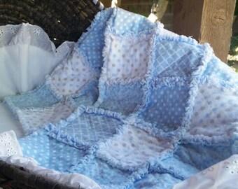 Baby Quilt - Little Boy Blue
