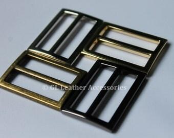 4 x 32mm Metal Tri Glide Slide Buckles