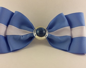 Blue Sailor Bow