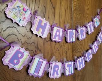 My Little Pony Birthday Banner, My Little Pony Birthday, My Little Pony Party, My Little Pony Birthday Party, My Little Pony Decor