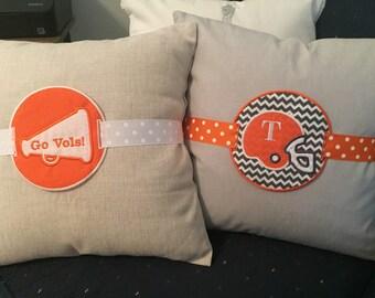 Football Spirit Pillow Charms