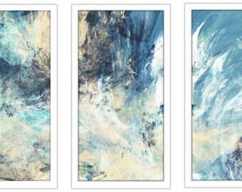 Feeling Blue - Framed Plexiglass Wall Art