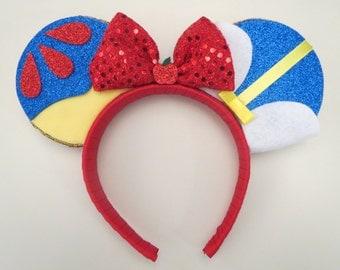 Snow White Inspired Ears