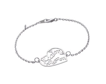 "Bracelet heart ""I love you MOM"""