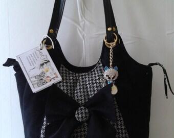 Handbag Shoulder Bag with Bow