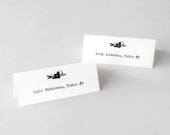 Printable Lily Place Cards or Escort Cards