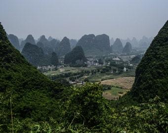 Moon Mountain, Yangshou, China