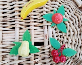 Poly Pops fruit magnets - never used!