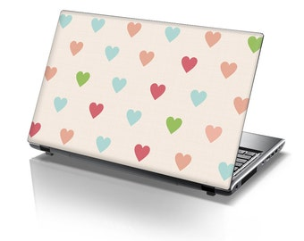 TaylorHe Laptop Skin Sticker Heart Shades