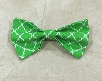 Green Moroccan Hair Bow