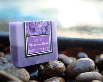Butterfly Bush Soap - Handmade Soap, Glycerin Soap, Handcrafted Soap, Natural Soap