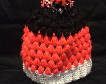 Children's Puff Stitch Beanie