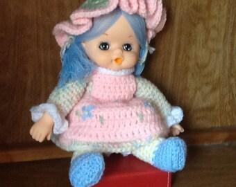 Meadow Yarn Hair Doll