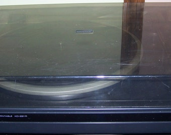 Vintage Kenwood KD 291-R Turntable