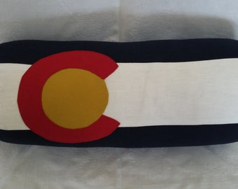 Colorado flag bolster