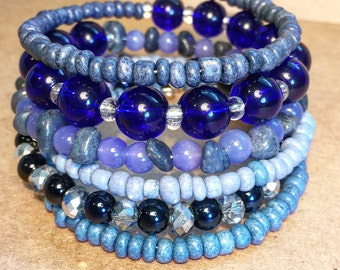 singing the blues bracelet