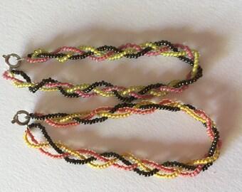Beaded Braided Bracelets